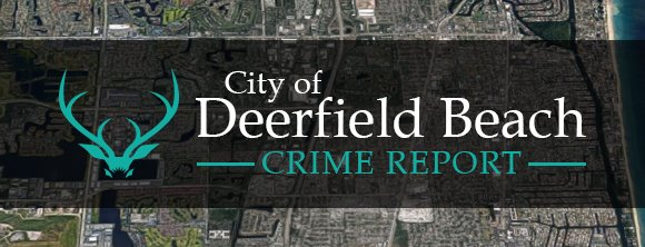 City of Deerfield Beach CRIME REPORT