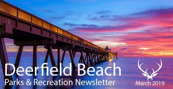 Parks & Recreation Newsletter - March 2019