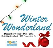 Winter Wonderland at Quiet Waters Park