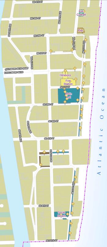 Parking Map Barrier island