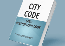Book says City Code, Land Development Code Opens in new window