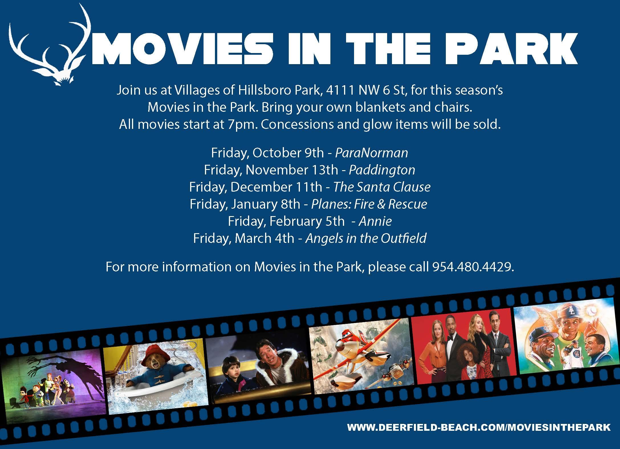 Deerfield Beach Movies In The Park